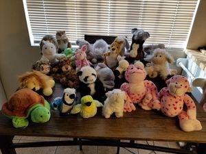 Like new Ganz stuffed animals for Sale in Tucson, AZ
