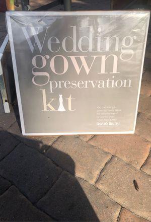 Wedding dress preservation for Sale in Fort Myers, FL