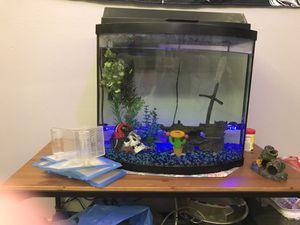 20 gallon fish tank for Sale in Puyallup, WA