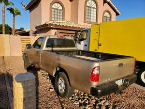 Camper shell toyota tundra long bed 8ft for Sale in Phoenix, AZ