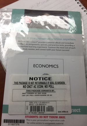 Connect Economics Access Code for Sale in Durham, NC