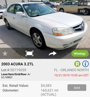 2003 Acura TL parting out for Sale in Lakeland, FL