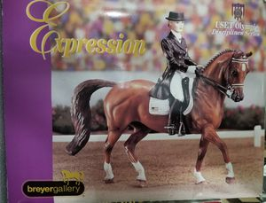 BREYER Porcelain-Expressions USET Dressage Series for Sale in Hillsboro, OR