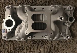 Edelbrock Small block chevy intake manifold for Sale in Paramount, CA
