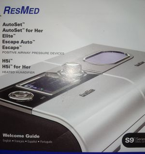 Cpap machine and heated humidifier for Sale in Lake Placid, FL