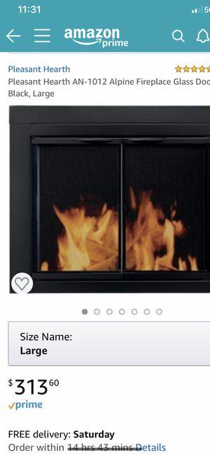 Fireplace glass door for Sale in Renton, WA