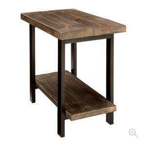 Pomona End Table, Rustic Natural for Sale in San Francisco, CA