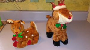 SET OF 2 VINTAGE CHRISTMAS RUDOLPH THE RED NOSED REINDEER for Sale in Voorhees Township, NJ