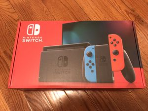 Nintendo switch with neon blue and red 32gb for Sale in Canonsburg, PA