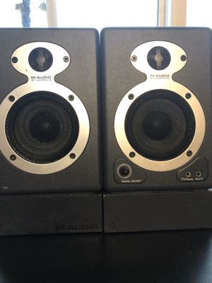 M-Audio Studio Pro 3 desktop monitors for Sale in Los Angeles, CA