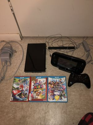 Nintendo Wii U Bundle for Sale in Springfield, MA