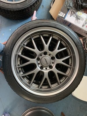 5x120 wheeel and tires for Sale in San Antonio, TX