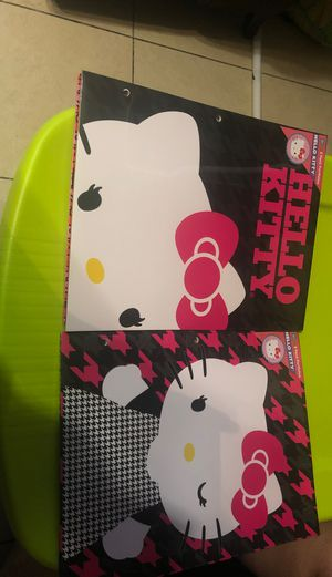 Hello kitty folders for Sale in Dallas, TX