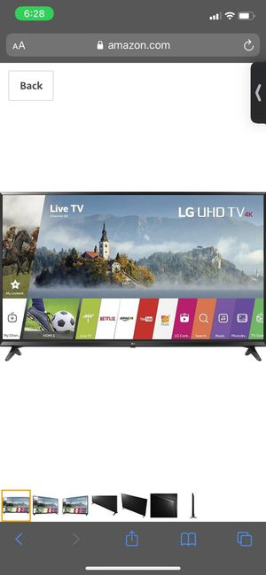 LG UHD 4k Smart TV (PRICE TO SELL!!!!!) for Sale in Santa Ana, CA