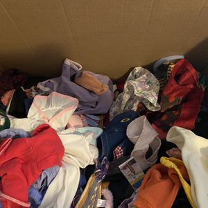 Large Box Of Doll Clothes- American Girl Doll for Sale in Lockport, IL