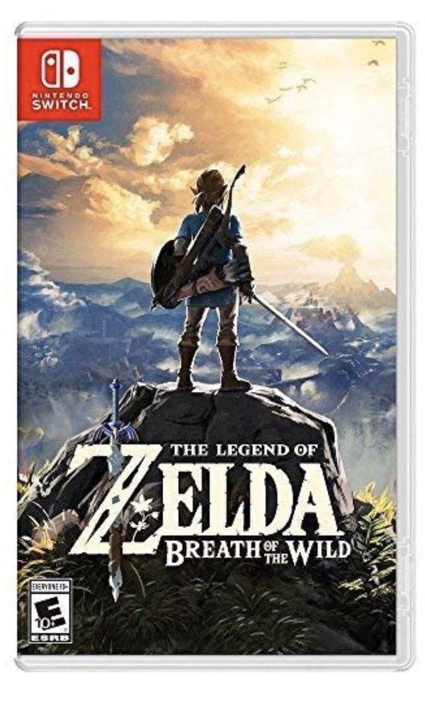 The Legend of Zelda: Breath of the Wild Nintendo Switch game brand new
