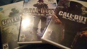 3 wii games like new for Sale in NC, US