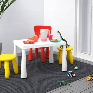 Children Table 2 Chairs Indoor Outdoor Set Ikea White for Sale in New York, NY