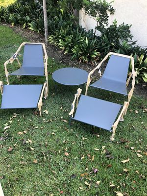ADIRONDACK CHAIR AND OTTOMAN for Sale in Long Beach, CA