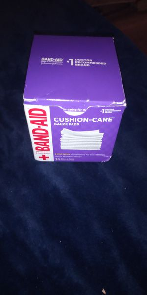 Band-aid gauze pads for Sale in Sacramento, CA