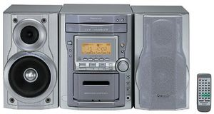 Panasonic Stereo System for Sale in Princeton, NJ