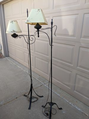 Wrought Iron Floor Lamps for Sale in Scottsdale, AZ