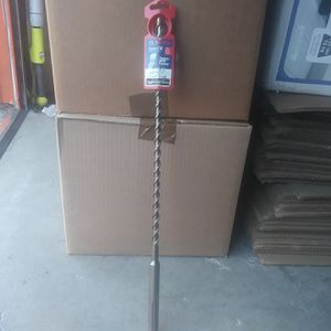 """Bosch SDS Max Hammer Drill Bit 1/2""""×21"""" for Sale in Los Angeles, CA"""
