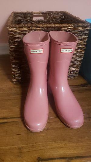 Pink Hunter Rain Boots for Sale in Duluth, GA