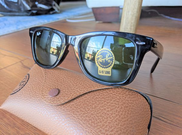 Brand New Authentic RayBan Wayfarer Sunglasses