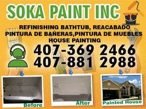 PAINT . Refinishing , renovation for Sale in Orlando, FL
