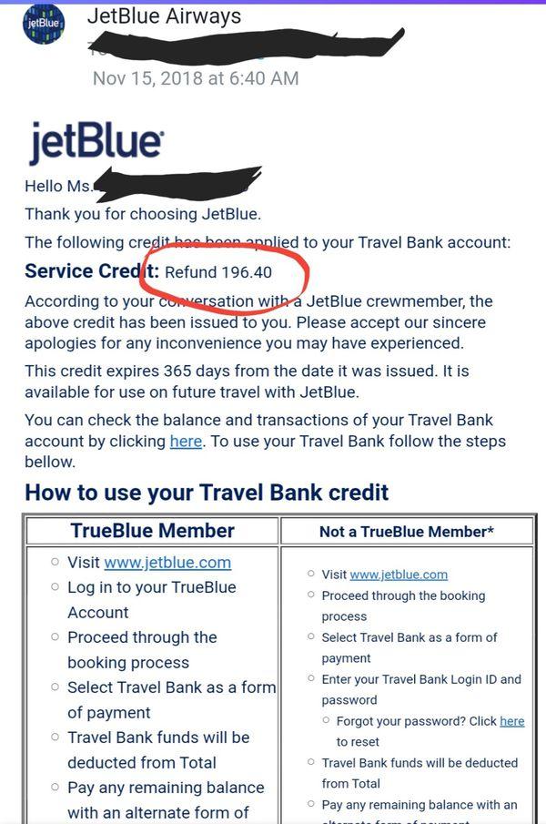Jetblue Airlines Travel Voucher $200