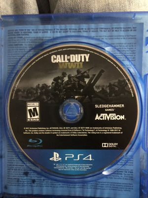 Call of duty WW2 for Sale in Tempe, AZ