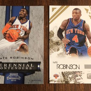 🔥Nate Robinson 2 Basketball Card Lot🔥 for Sale in Port St. Lucie, FL
