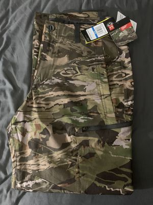 Men's UA ArmourVent NFZ Camo Field Pants for Sale in Vancouver, WA
