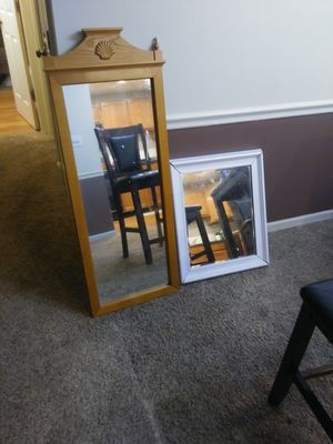 Mirrors. Blender. Silverwear holder. Everything for $25. Or each individual item is $10 a piece. for Sale in Wood Dale, IL