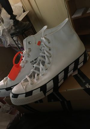 Offwhite Converse size 10 for Sale in Bronx, NY