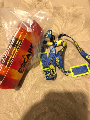 2 day escape bracelets , I have 2 of them . I'm tryna just get my money back for $235 for Sale in Huntington Beach, CA
