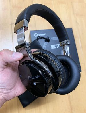 (New in box) $50 COWIN E7 Active Noise Cancelling Headphones Bluetooth Wireless 30 Hours Playtime for Sale in Whittier, CA