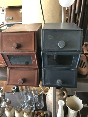 Set of 2 tin storage containers for Sale in Alpharetta, GA