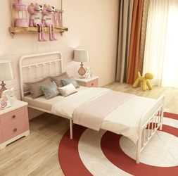 White Twin Bed frame for Sale in Simi Valley,  CA