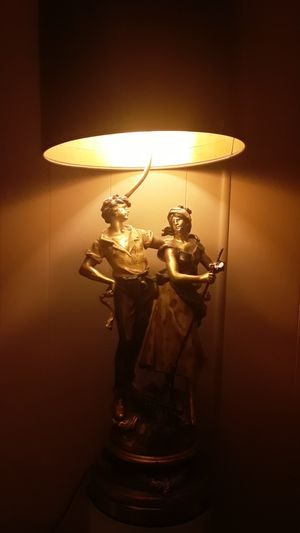 L&F Moreau Antique French lamp for Sale in Lakeside, CA