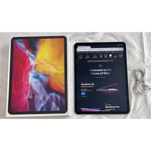 Apple iPad Pro 11 Newest 2020 Model Wifi And Cellular 256gb Space Gray With Cable And Box / Perfect Condition for Sale in Englewood, CO