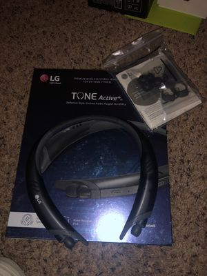 LG wireless Bluetooth headset for Sale in Elsmere, DE