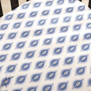 Fitted Crib Sheet - Dena Indigo Collection for Sale in Rockville, MD