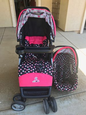 Minnie Mouse stroller and car seat for Sale in Watsonville, CA