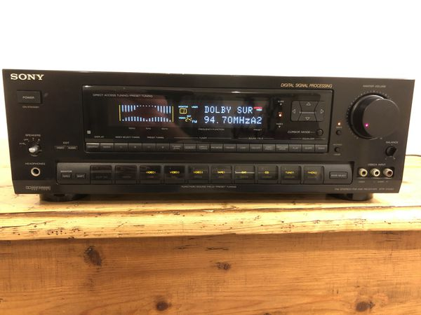 Vintage Sony STR-D1090 FM Stereo/FM-AM receiver with remote
