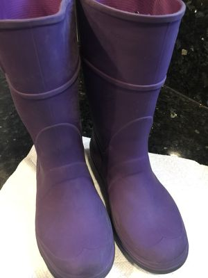 Rain boots kids size 12 kids for Sale in Cupertino, CA