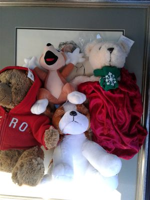 4 STUFFED ANIMALS ALL APPEAR TO BE NEW , 3 OF TJEM WITH TAGS for Sale in Baltimore, MD