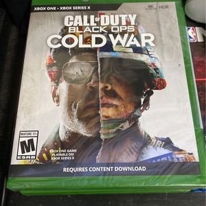 Xbox Call Of Duty Black Op Cold War for Sale in Seattle, WA