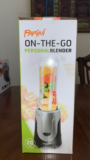 Parini on the go Personal Blender. Brand New for Sale in Banning, CA